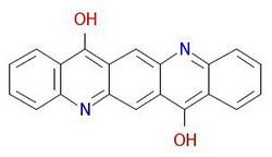 Pigment-vijolično-19-Molekularna struktura
